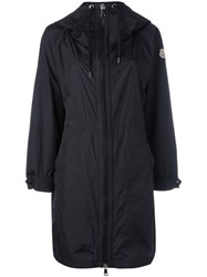Moncler Oversized Hooded Coat Black