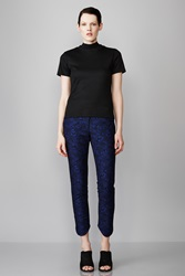 Opening Ceremony Chard Suiting Circle Hem Pant Blue Currant Multi