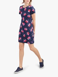 261ed0d5104 Joules Riviera Floral T Shirt Dress Navy