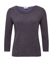 Jacques Vert Sparkle Jumper Purple