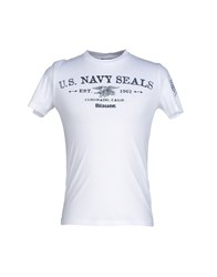 Blauer Topwear T Shirts Men White