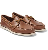 Sperry Authentic Original Leather Boat Shoes Brown
