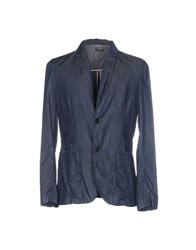 Paolo Pecora Man Suits And Jackets Blazers Dark Blue