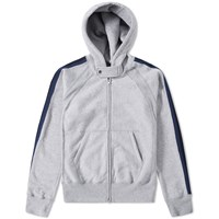 Engineered Garments Raglan Zip Hoody Grey