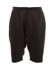 Y 3 Spacer Dropped Crotch Shorts Black