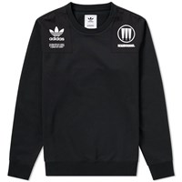 Adidas Consortium X Nbhd Commander Crew Sweat Black