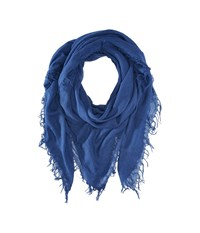 Chan Luu Cashmere And Silk Scarf Medieval Blue Scarves Navy