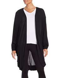 Bench Open Front Cardigan Black