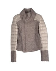 Alysi Down Jackets Grey