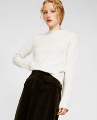 Aspesi Wool And Angora Sweater Ice