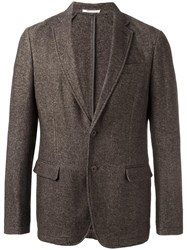 Armani Collezioni Two Button Blazer Brown