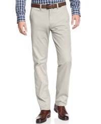 Kenneth Cole Reaction Slim Fit Solid Chino Pants String