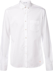 Tomas Maier Poplin Button Down Shirt White