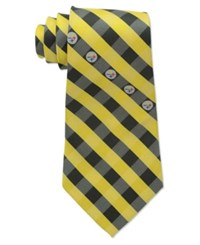 Eagles Wings Pittsburgh Steelers Checked Tie Team Color