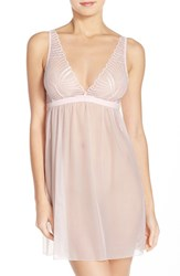 Women's Cosabella 'Minoa' Babydoll Chemise Pink Lilly
