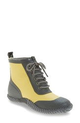 Dav Women's Telluride Waterproof Rain Boot Yellow
