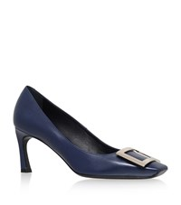Roger Vivier Decollete Belle Pumps 70 Female Navy