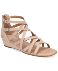 B.O.C. Mimi Wedge Sandals Women's Shoes Blush