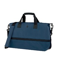 Victorinox Werks 5.0 Carryall Tote With Drop Down Expansion Navy Blue