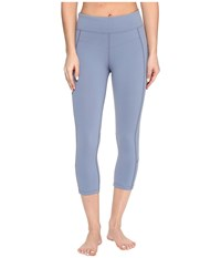 Lorna Jane Ultimate Support 7 8 Tights Powder Grey Women's Casual Pants Gray