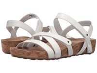 Walking Cradles Pool White Cashmere Cork Wrap Women's Sandals