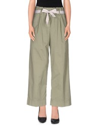 Vicolo Trousers Casual Trousers Women Military Green