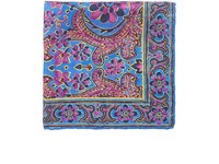 Ralph Lauren Purple Label Men's Floral Silk Pocket Square Blue