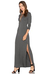 Candc California Siren Dress Charcoal