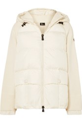 Moncler Grenoble Quilted Down Jacket White