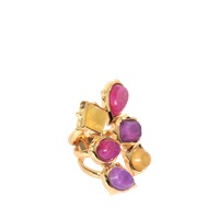 Isharya Pastel Rani Statement Ring