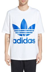 Adidas Men's Originals Ac Boxy Oversize T Shirt White