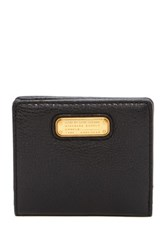 Marc By Marc Jacobs New Q Leather Emi Wallet Black