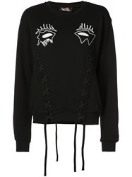 Haculla Evil Eye Jumper Black
