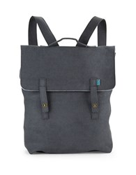 M R K T Carter Faux Suede Backpack Iron