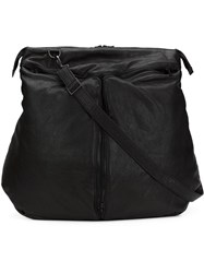 Julius Large Messenger Bag Black