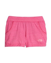 The North Face Tri Blend Lightweight Shorts Pink
