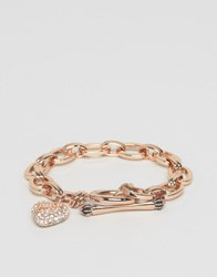 Juicy Couture Pave Rose Gold Bracelet Rose Gold