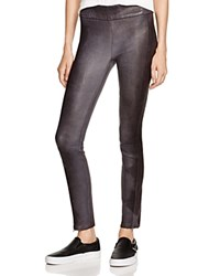 Rag And Bone Rag And Bone Jean Leather Ankle Zip Leggings 100 Bloomingdale's Exclusive Washed Charc