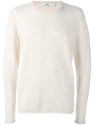 Hope For Men 'Con' Jumper Nude Neutrals