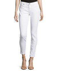 Michael Kors Skinny Leg Cropped Denim White