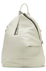 Vince Camuto Giani Leather Backpack White Snow White