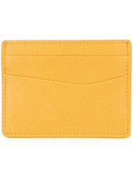 Furla 'Apollo' Cardholder Yellow Orange