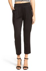 Women's Bp. Tapered Pleated Pants Black