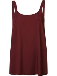 Helmut Lang Cami Top Red