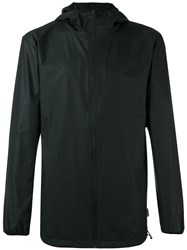 Rains Zip Up Jacket Black
