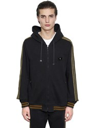 Dolce And Gabbana Military Hooded Cotton Sweatshirt