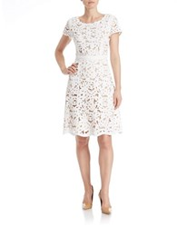 Nue By Shani Lace Dress Ivory Nude