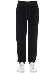 Moschino Logo Printed Sweatpants Black