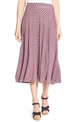 Caslon Women's Stretch Knit Midi Skirt