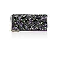 Dries Van Noten Women's Embellished Velvet Clutch No Color